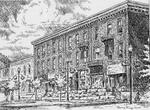 Sketch of Simmons Block, Colborne
