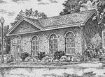 Sketch of the former Land Registry Office, Colborne