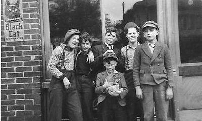 Doug Moffat, Bill Spencer, Bill Somerville, Jack Naish and John Moffat, Cramahe Township