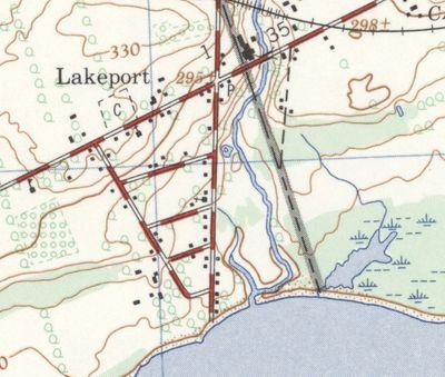 Lakeport, ON. 1:25,000. Map sheet 030N13E,F, [ed. 1], 1969