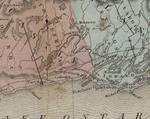 Cramahe Township map detail, Upper Canada, Tanner's Universal Atlas, 1836