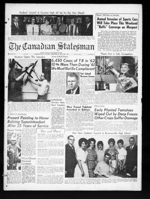 Canadian Statesman (Bowmanville, ON), 29 May 1963