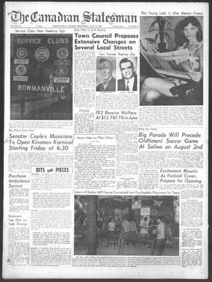 Canadian Statesman (Bowmanville, ON), 16 Jul 1969
