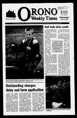 Orono Weekly Times, 4 Jun 2003