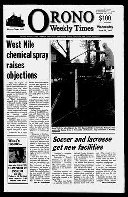 Orono Weekly Times, 18 Jun 2003