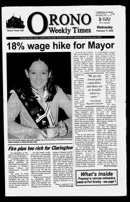 Orono Weekly Times, 11 Feb 2004
