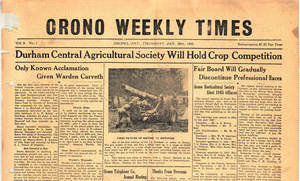Orono Weekly Times