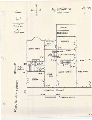 Floor plan for Ravensworth