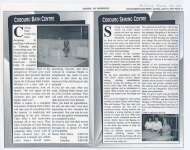 Two short articles on Cobourg Bath Centre and Cobourg Sewing Centre