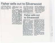 Article giving a brief history of Fisher's Dairy Limited.