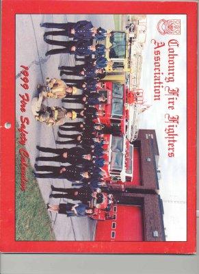 Cobourg Fire Fighters Association 1999 Fire Safety Calendar