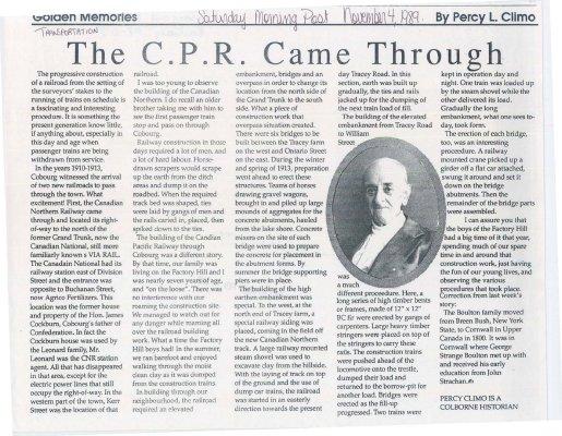 The C.P.R. Came Through