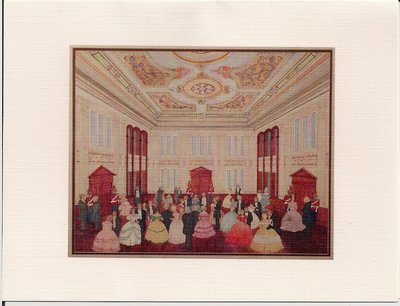 The 150th Anniversary of Victoria Hall Grand Ball Invitation