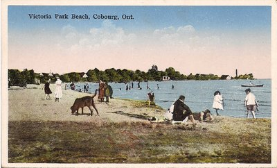 <b>Victoria Park Beach, Cobourg, Ont.<b>