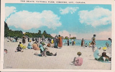 <b>The Beach, Victoria Park, Cobourg, Ont., Canada.<b>