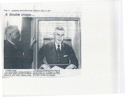 A photo of Col. Gordon King