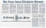 No four-lane Division Street