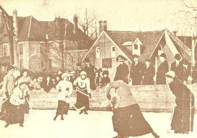 Ladies' Hockey Match 1910