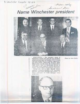 Name Winchester president