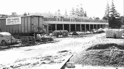 Cobourg District Collegiate Institute East under construction