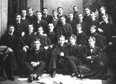 <b>Victoria College, Freshmen of 1883<b>