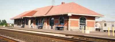 <b>VIA Rail, Cobourg Station - 1992<b>