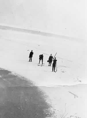 Lake Ontario Frozen Over 1920