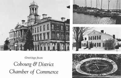 <b>Victoria Hall, Cobourg Marina, Barnum House, and Floral Clock, Victoria Park<b>