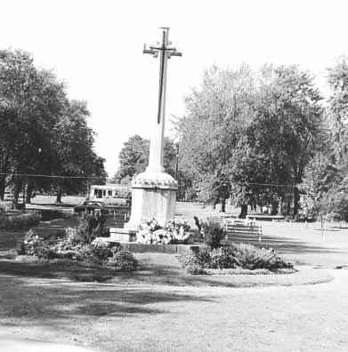 <b>Cobourg War Memorial<b>
