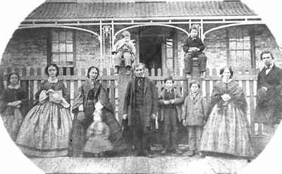 <b>Guillet Family - c.1862<b>