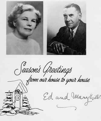 <b>Edwin Clarence and Mary Elizabeth (Scott) Guillet<b>