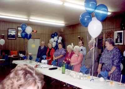 <b>Gladys May Langford Russell - 80th Birthday<b>