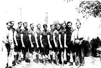 Precious Corners Football Team of 1914 (Bethesda Football Players)