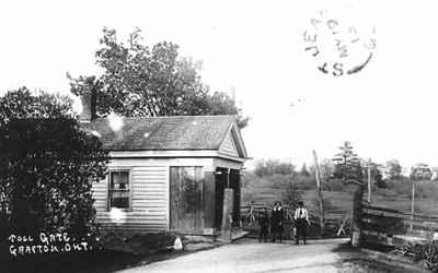 Toll gate, Grafton, Ontario