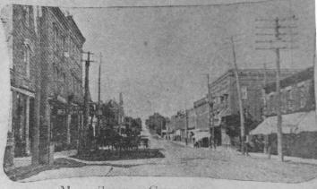 Main Street looking north 1908