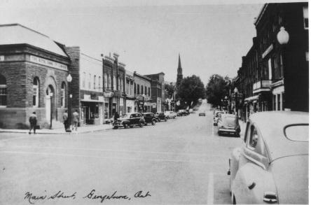 Main Street looking north-west 1949