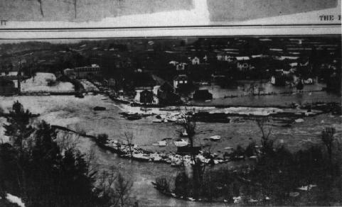 Flooding of the Credit River