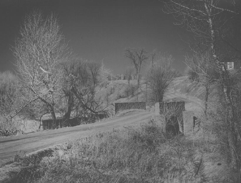 Wildwood Bridge in Winter