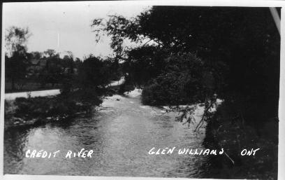 Credit River at Glen WIlliams