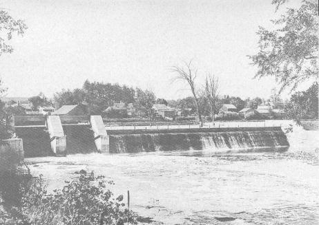 Norval Dam 1912