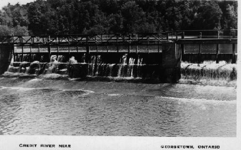 Credit River Dam c1940