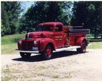 Restored Fire Department Truck