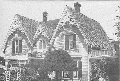 Dr Websters Home - Norval Postcards