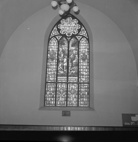 Union Church Stained Glass Window