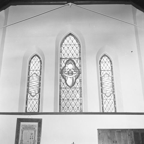 Windows at St. George's Anglican Church