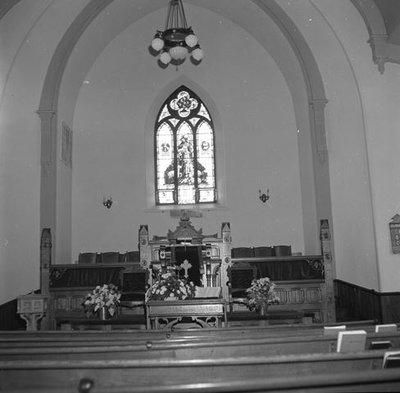 Window at Union Presbyterian Church