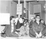 Holy Cross School Sit-In