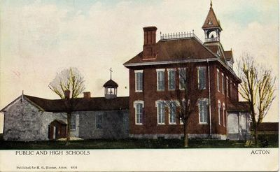 Acton Public and High School