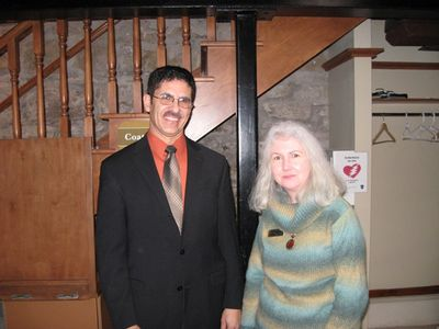 Linda Twitchell and John Mark Rowe