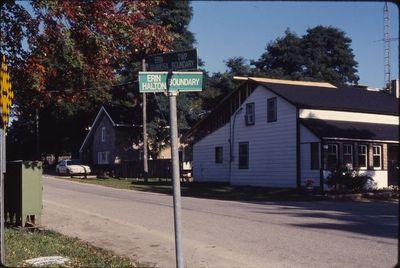 Erin Halton sign - Showing 4 townships